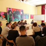 Site Specific Exploratory Workshop  on What is Public Space/Sharing, Balkan Museum Network,  Novi Sad, Serbia