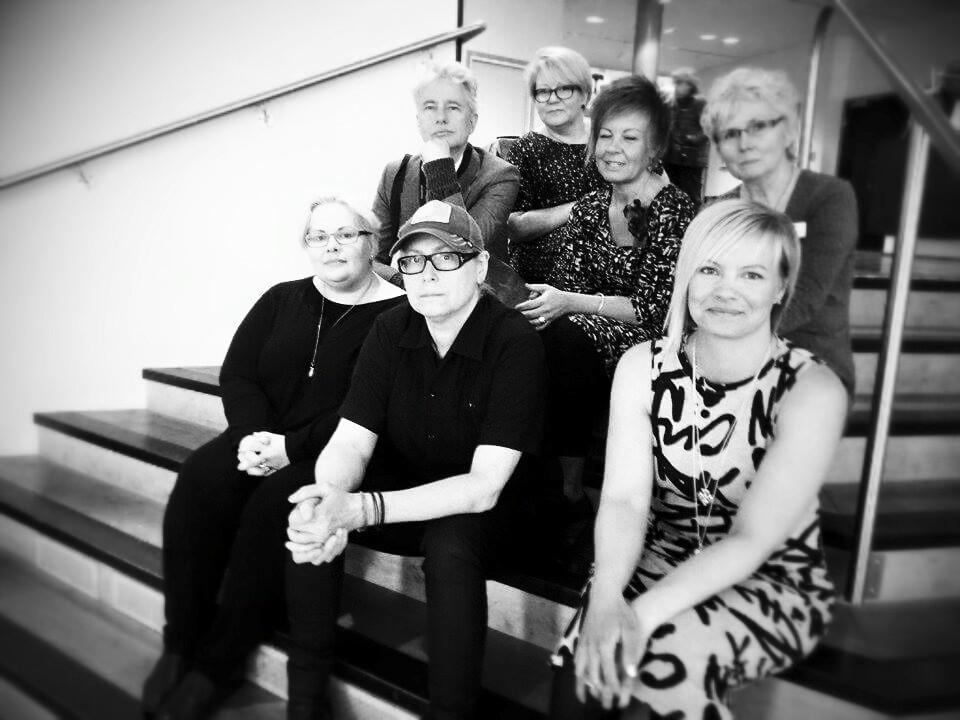 Michelle Marie Roy, Anna Viola Hallberg, Maret Anne Sara, Mikael Olofsson, Anette Carlsson, Eva Gun Jensen,  Miia Rantala.