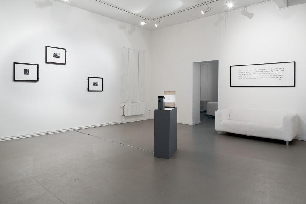 Konstepidemin  19 okt–10 nov Galleriet Anna Viola Hallberg & Björn Perborg med Bror Kronstrand  Making The Immortal